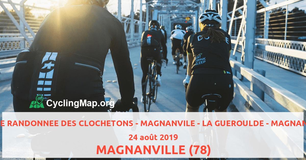 16 EME RANDONNEE DES CLOCHETONS - MAGNANVILE - LA GUEROULDE - MAGNANVILLE
