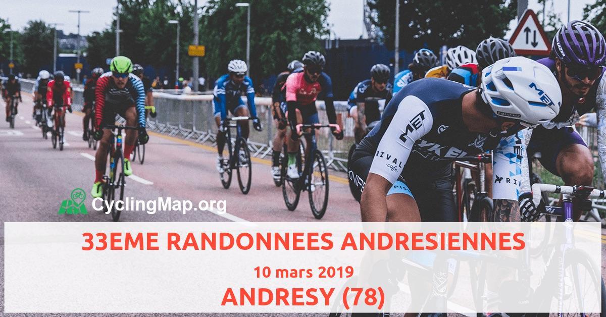 33EME RANDONNEES ANDRESIENNES