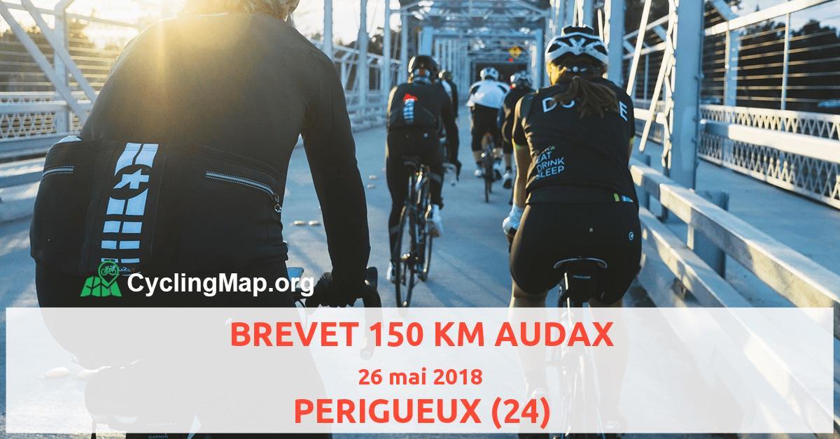 BREVET 150 KM AUDAX