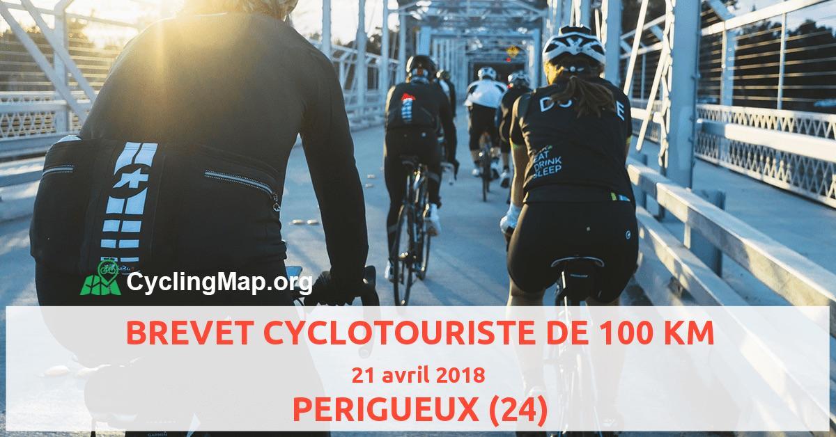 BREVET CYCLOTOURISTE DE 100 KM