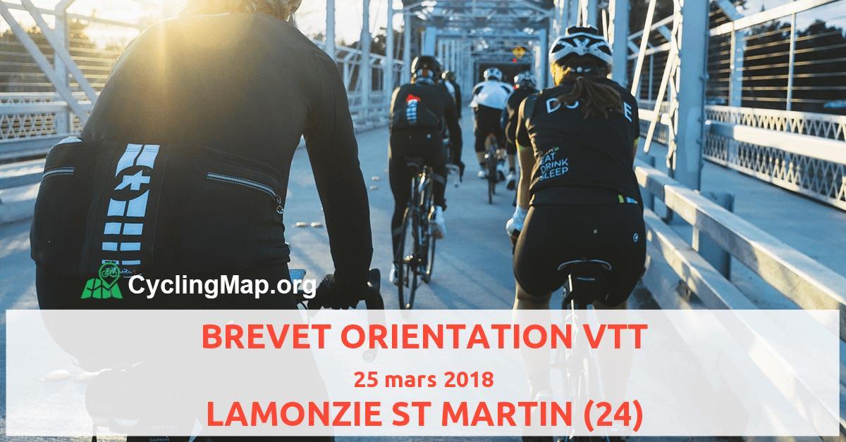 BREVET ORIENTATION VTT