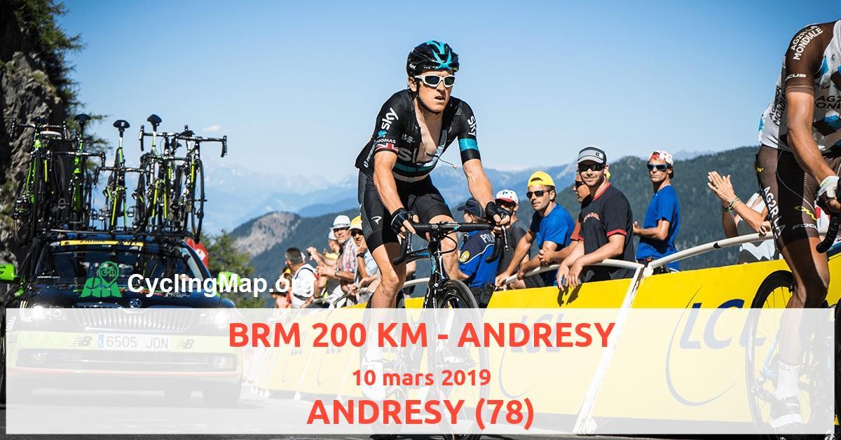 BRM 200 KM - ANDRESY
