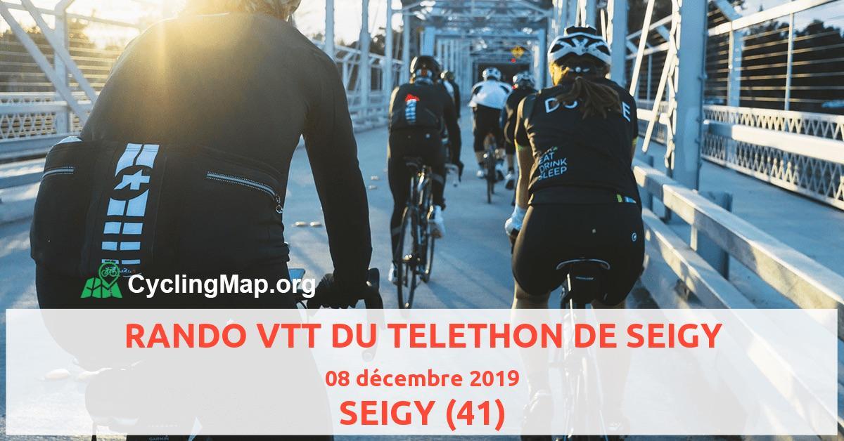 RANDO VTT DU TELETHON DE SEIGY