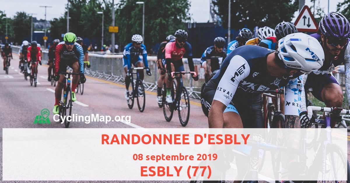 RANDONNEE D'ESBLY