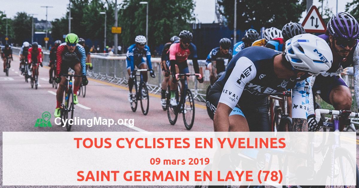 TOUS CYCLISTES EN YVELINES